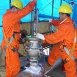 Perfuração de tubulação em carga