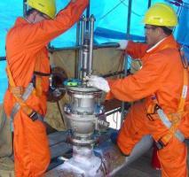 Furar tubo em carga